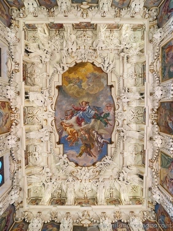 ( , ): Ceiling sacristy Sanctua - milanofotografo | ello