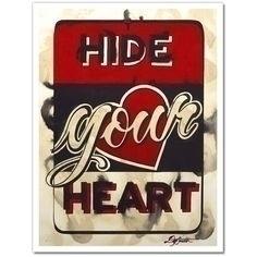 Hide heart - charliercuts   ello