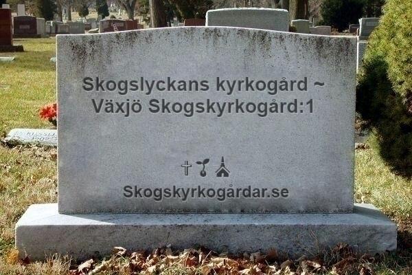 Skogslyckans Kyrkogård ~ Växjö  - skogskyrkogardar | ello