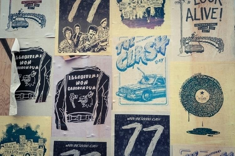 Nice poster International Clash - mrbryant | ello