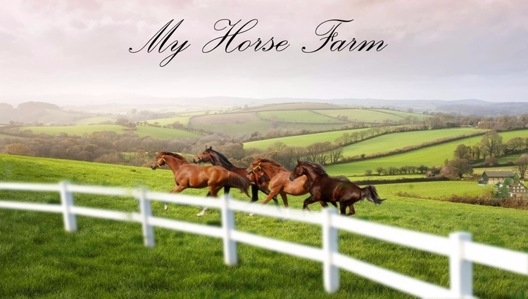day... horse farm - selenecorvin | ello