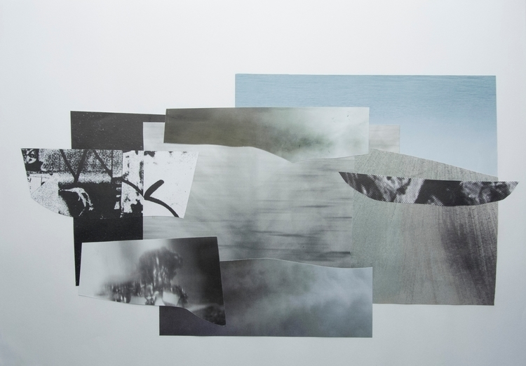 Dawn winter, Collage - art, abstract - wrjenkinson | ello