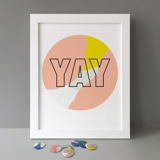 YAY! Yay Nay button badge desig - julienmartin | ello