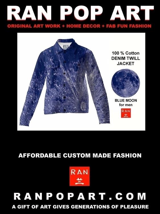 Blue Moon Men RAN 100 % Cotton  - ranandrews | ello