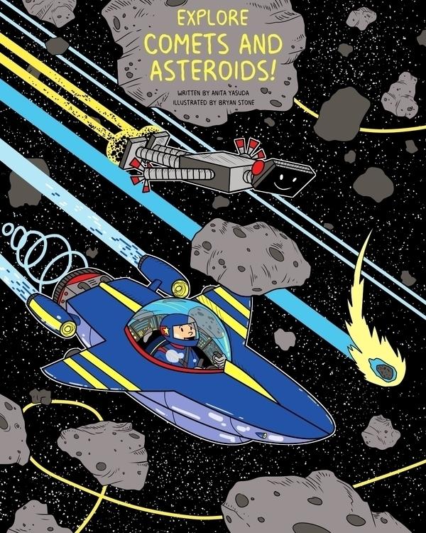 Explore Comets Asteroids! Nomad - marsmckay | ello