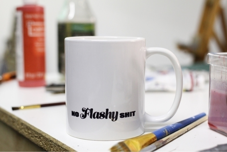 noFLASHYshit Tea Mug Derrick Ko - derrick_koch | ello