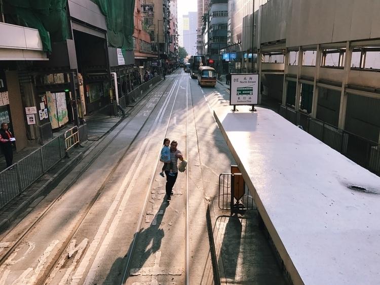 running catch tram, hong kong - kappuru | ello