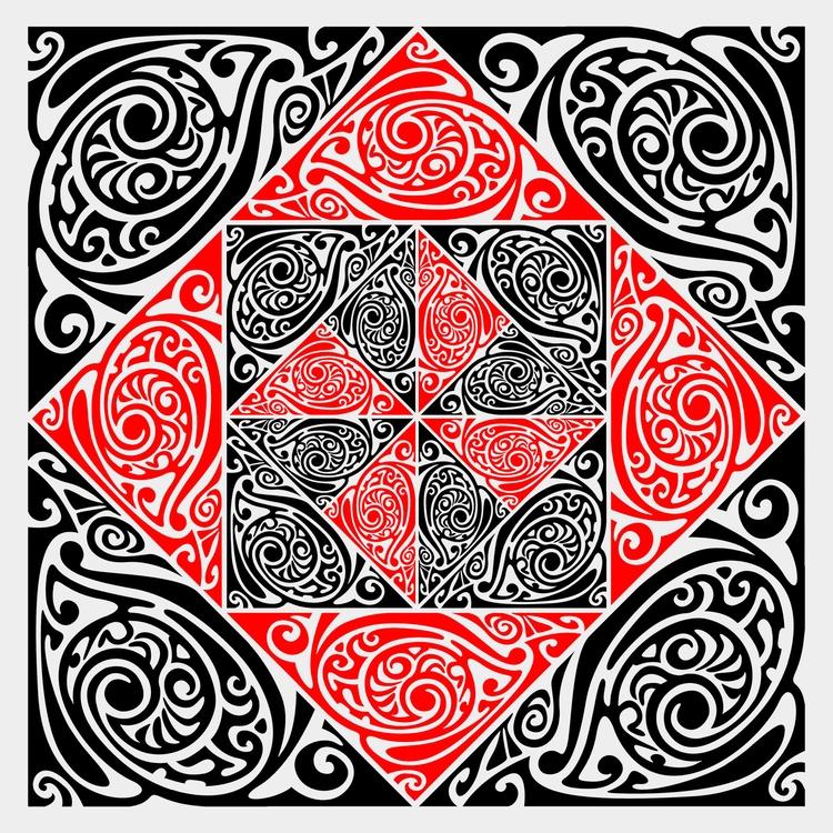 Nº 30 - tile, abstract, art, illustration - csilverman | ello