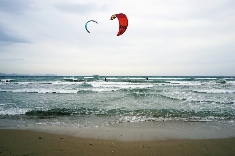 love air - kitesurfing, sea, Athens - gamblersfallacy | ello