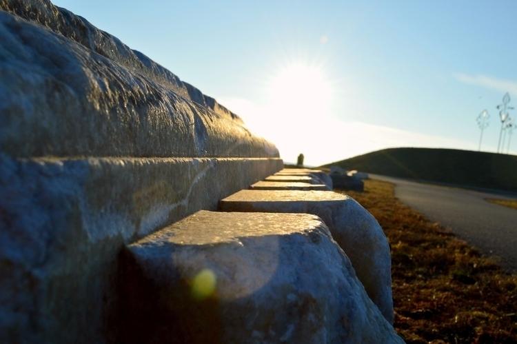 Salt Block Lens Flare  - buffalo - hopelesswanderer | ello