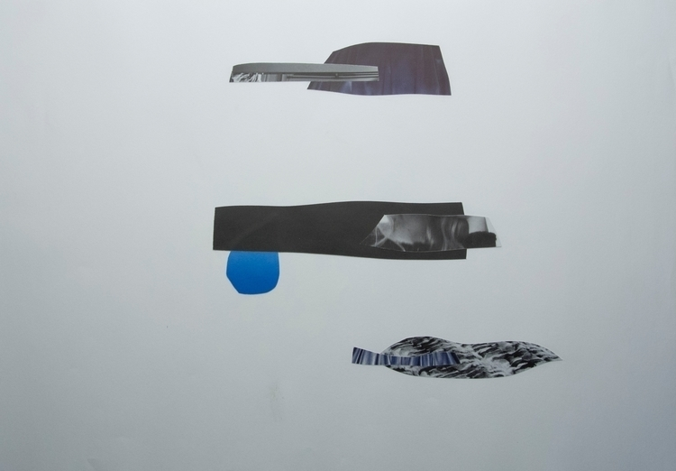 Ripples boat, Collage - art, abstract - wrjenkinson | ello