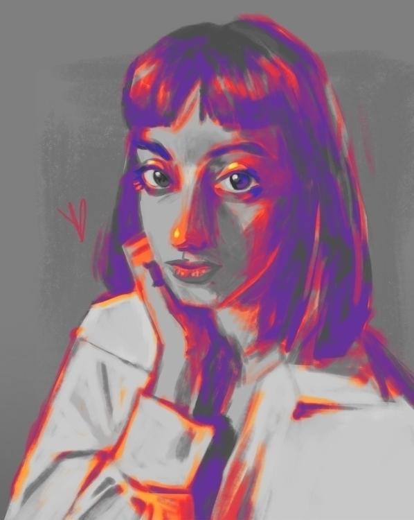 Mars (Mia) Infra IV - women, portrait - evandileo | ello