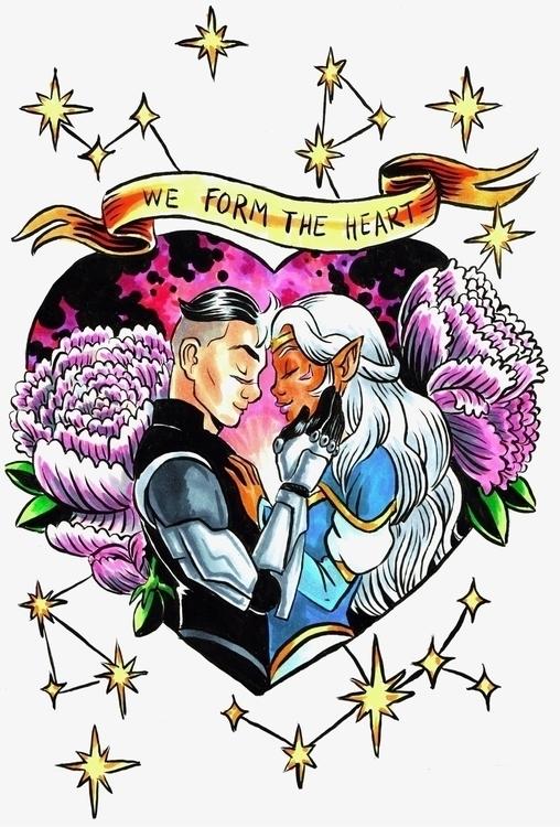 LION love Voltron! Valentine 🖤 - royallyeric | ello
