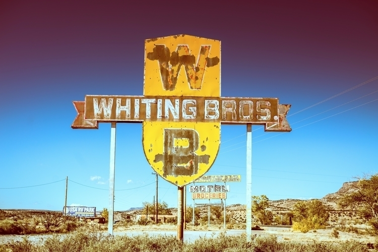Whiting Bros... Route 66, Mexic - thomashawk | ello