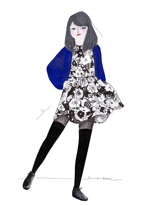 mondays outfit: vintage boyfrie - lanonette   ello