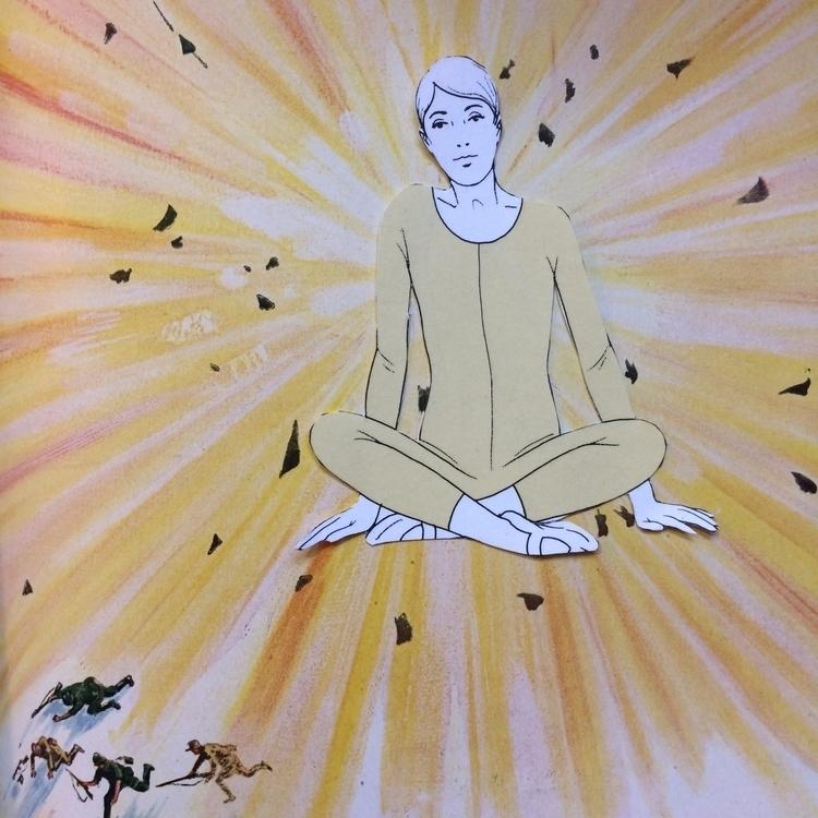 Unglued series. War peace - yoga - danielletcole | ello
