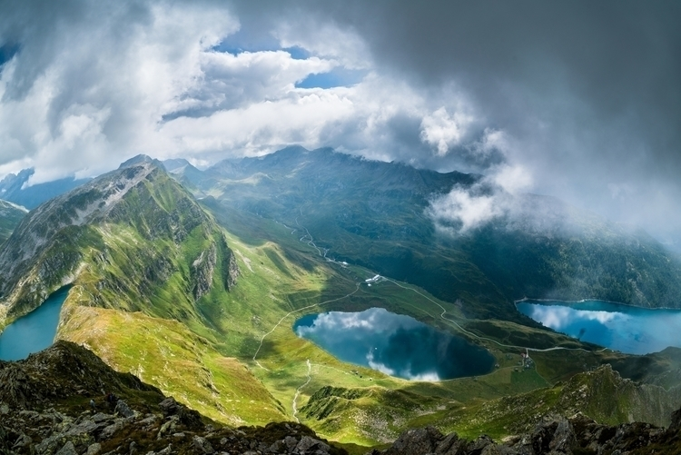 place Earth vibrant lakes Switz - chrisburkard | ello