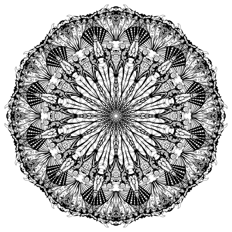 Chilling kaleidoscope - mechamilk | ello
