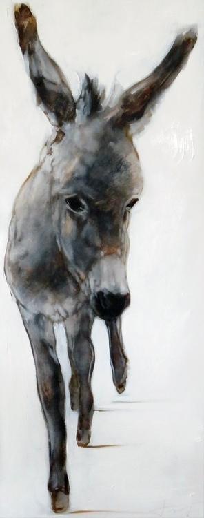 donkey 2017, 100*40 cm - jahupo | ello