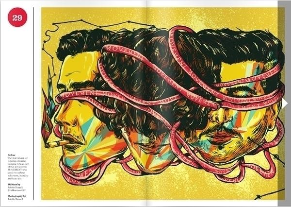 Illustrations Magazine Nicolae  - nicolaenegura   ello