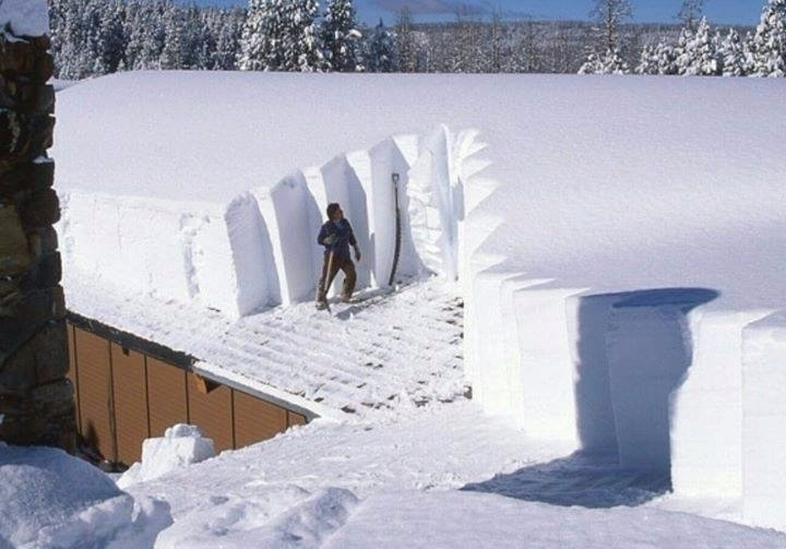 Roof clearing snow storms days - tbiveteran | ello