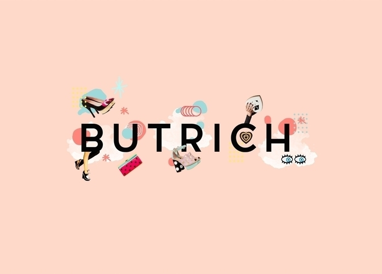 BUTRICH // COLLAGE DIGITAL  - ilustraaron | ello