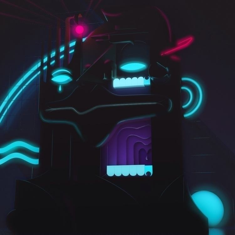 Preparation — Neon Demon'. (WIP - schalauka | ello