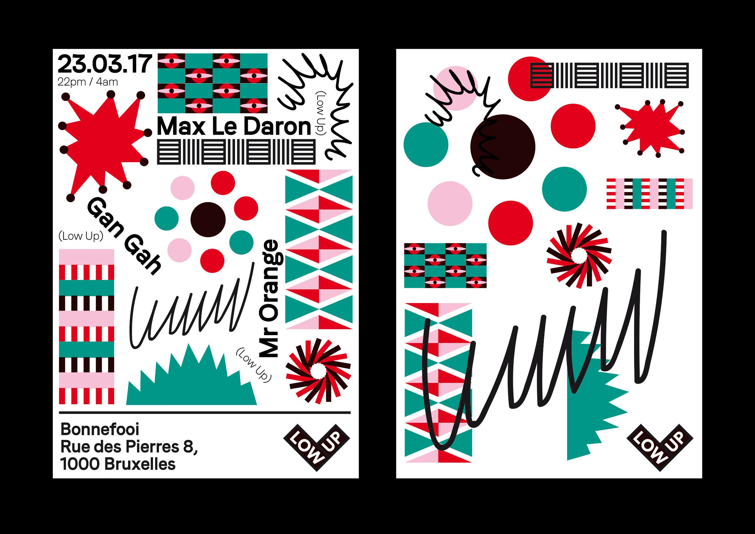 Poster Design Party Tim Colmant - timcolmant | ello
