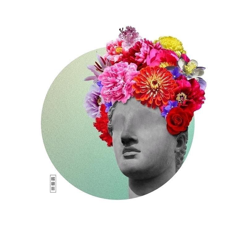 Blind, 2016. Digital collage. R - rosauro | ello
