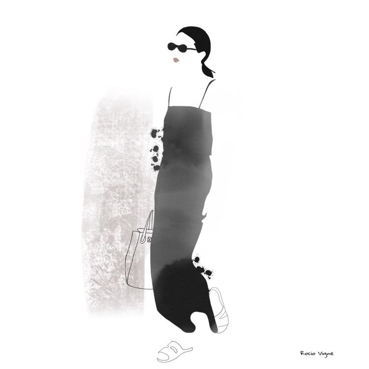 Fashion illustration inspired s - rociovigne | ello