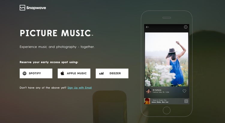 Snapwave! Experience music phot - jornstraten | ello