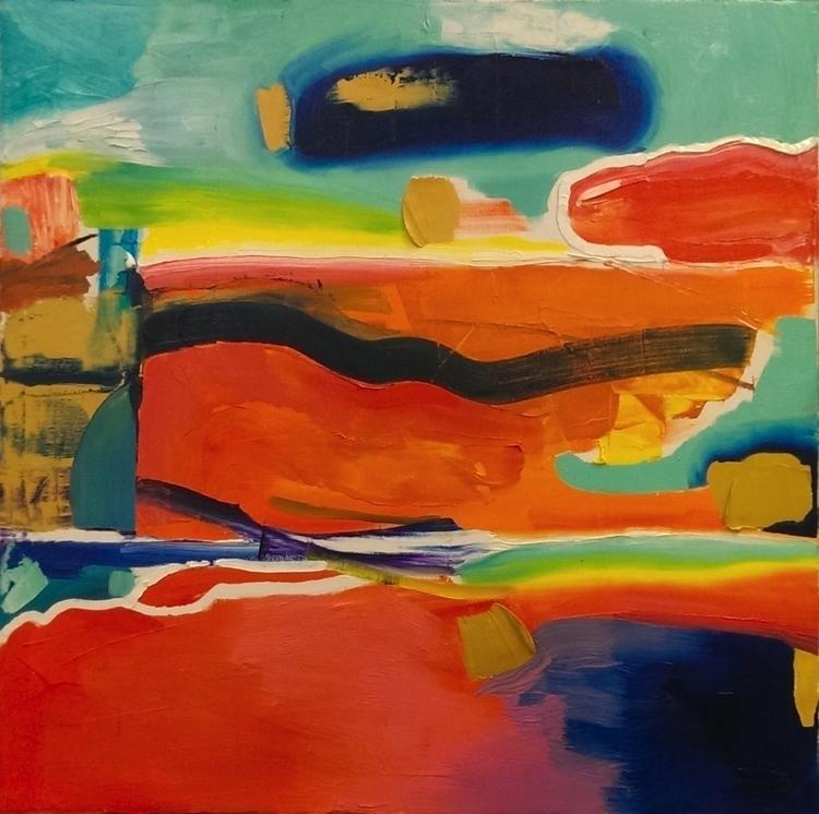 Vision Oil canvas - elloart, art - peytonrack | ello