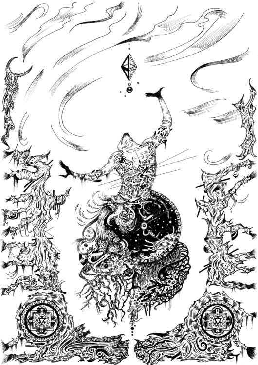 Throwback earlier artwork India - valiullah1990 | ello