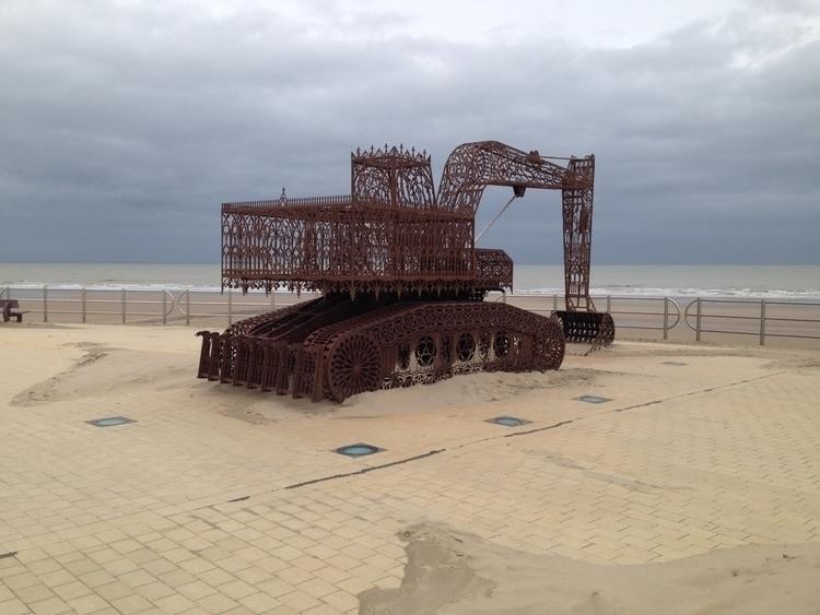 Beaufort North Sea sculptures c - godenkind | ello