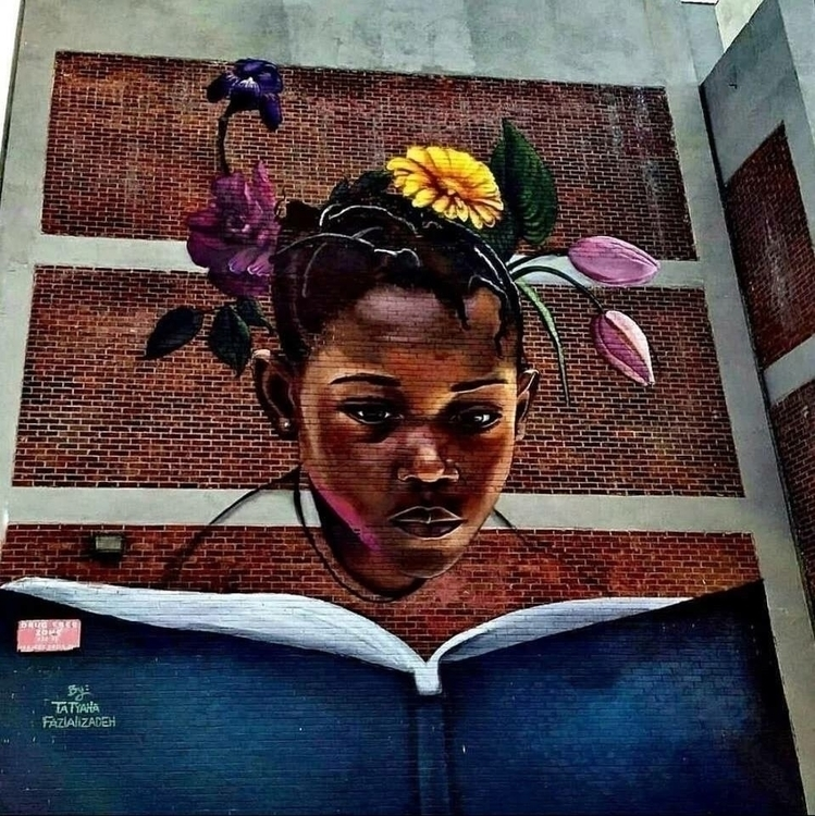 Artist: Tatyana Fazlalizadeh Lo - streetartunitedstates | ello