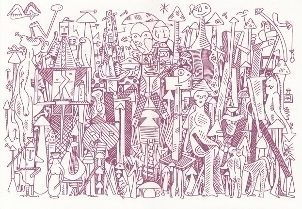 zine, Picasso remix limited edi - lukeramsey | ello