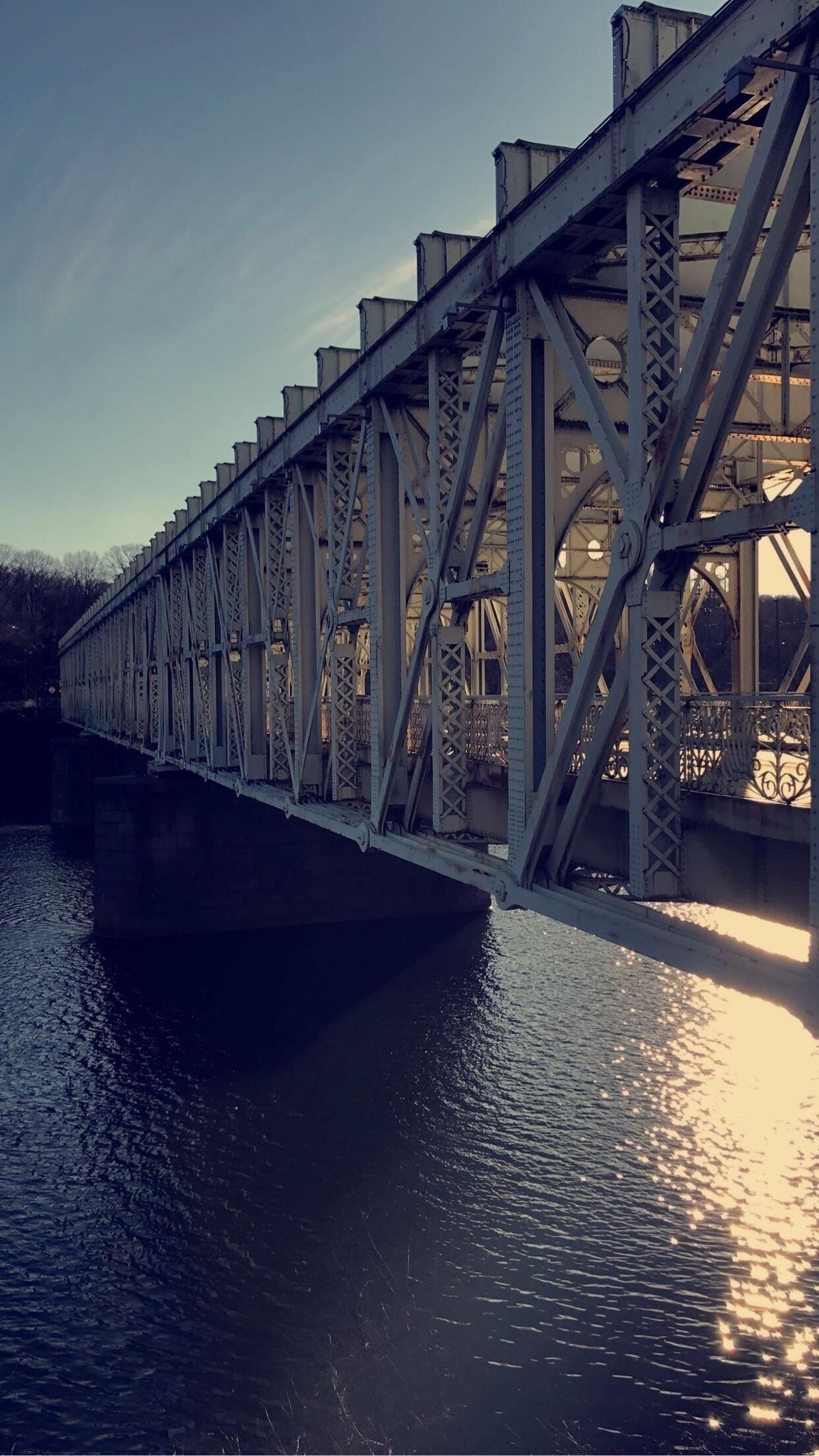 East Falls Bridge, Falls, Phila - romew | ello