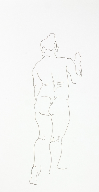 Saturday 1-3 minute poses - lifedrawing, - mickepe | ello