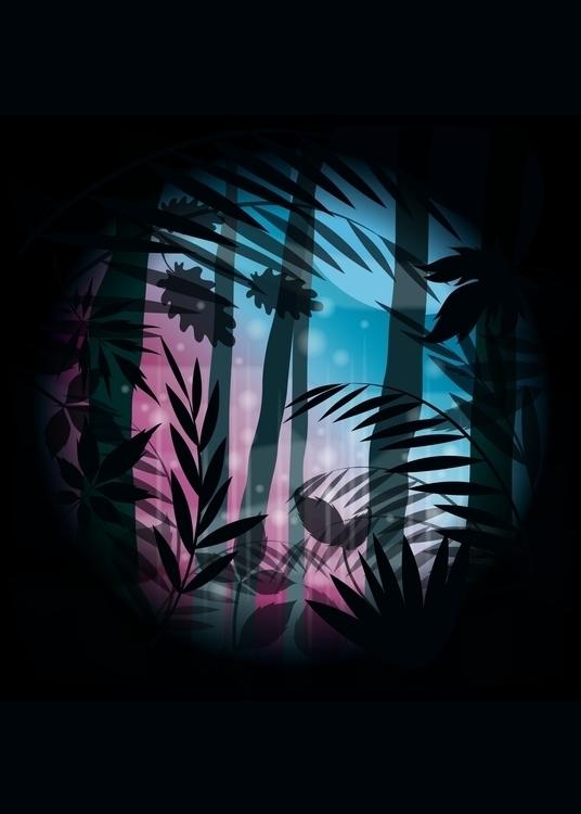 Noches Mágicas en el Botánico M - quino | ello