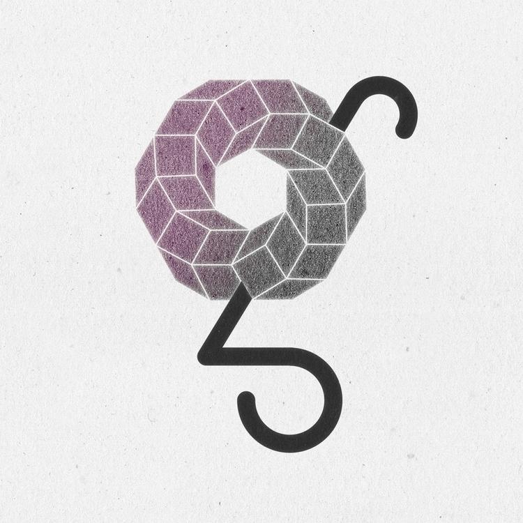 Geométrica - 36daysoftype, 36days_g - llanwafu | ello