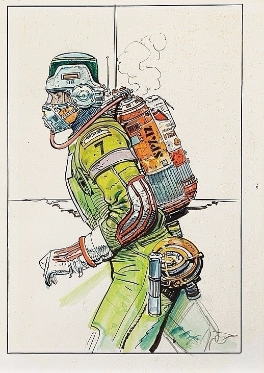 Top: Vintage original spacesuit - millis | ello
