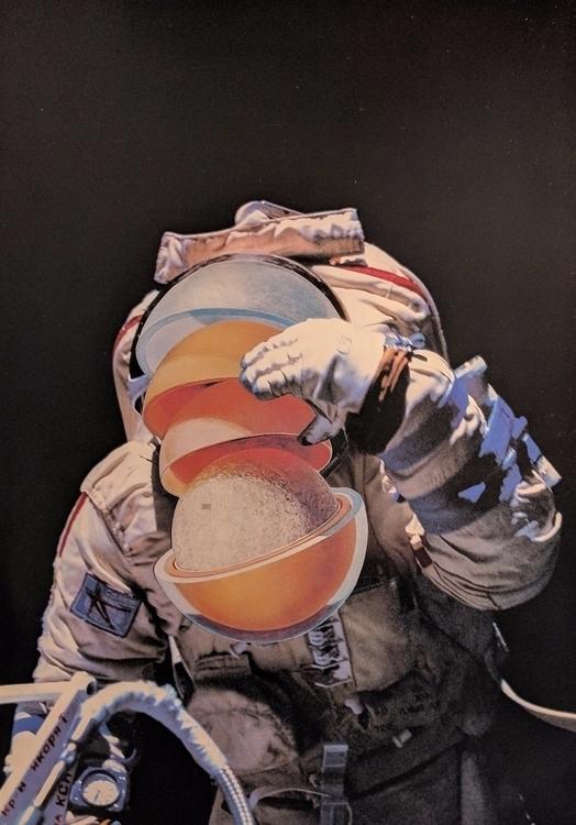 adam, atom, astronaut, layers - marieconigliaroart | ello