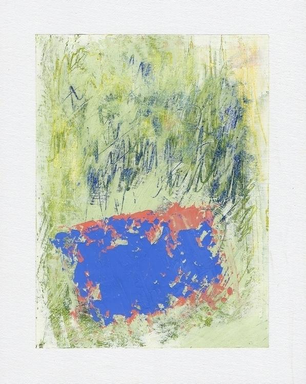 Untitled Mixed Media, A4 - art, abstract - terry_hearnshaw | ello