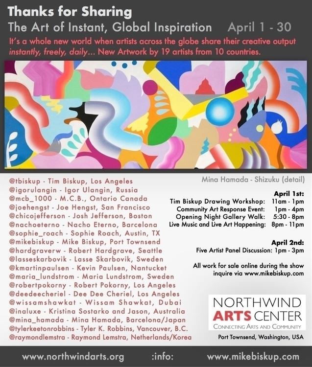 Sharing: Art Instant, Global In - mikebiskup | ello