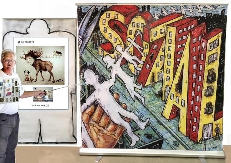 painting/installation/screens p - markstaffbrandl55 | ello