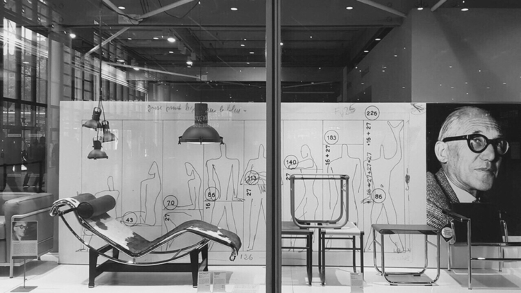 Le Centre-Pompidou - Corbusier, Exhibition - bauhaus-movement | ello