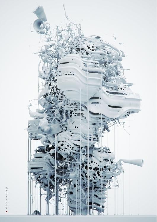 object_Skizoid - houdini, algorithm - jorisputteneers   ello