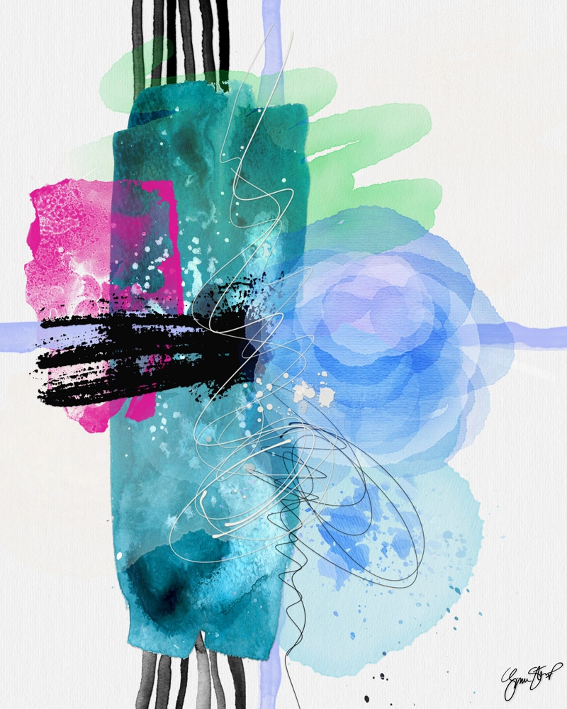 Poetry Technicolor - mixedmedia - ginastartup | ello