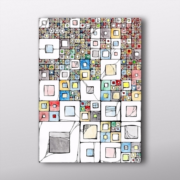 Grid#02 ^_^ check original art - dettidkun | ello