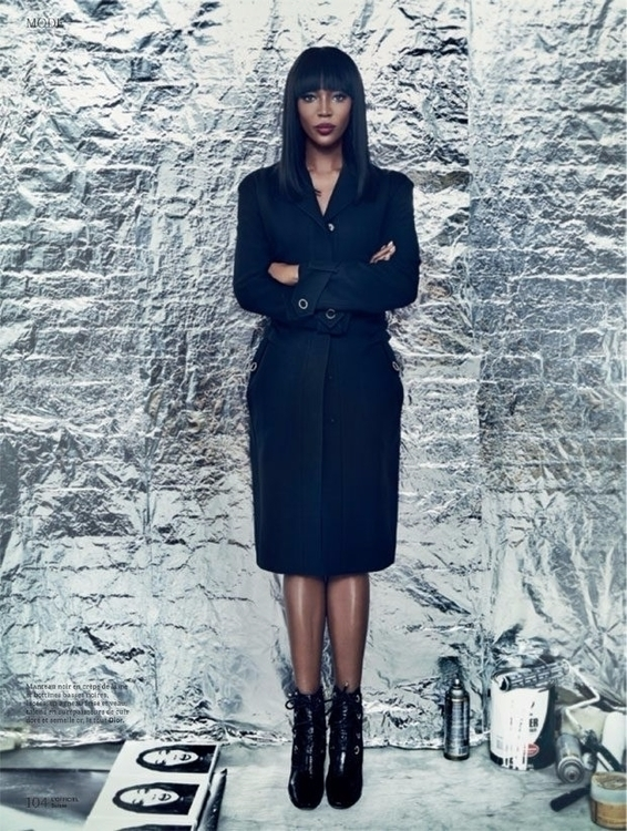 Naomi Campbell Switzerland. Pho - ellofashion | ello